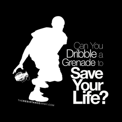 Can You Dribble A Grenade To Save Your Life?